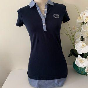 Tommy Hilfiger short sleeve polo shirt-XXS